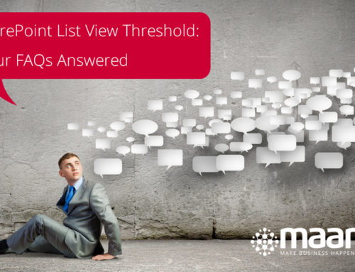 SharePoint List View Threshold: Your FAQs Answered