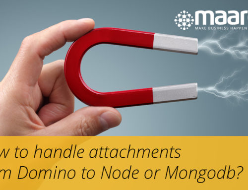 How To Handle Attachments From Domino To Node Or Mongodb