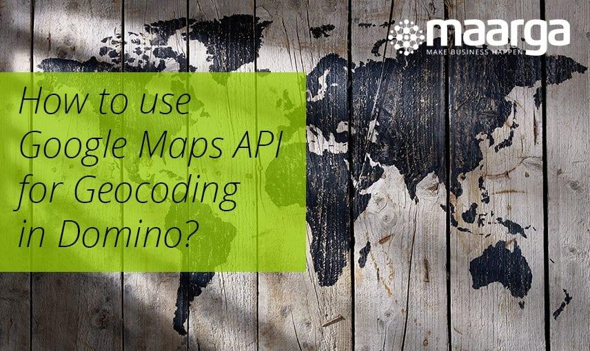 Google Maps API for Geocoding