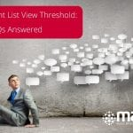 SharePoint List View Threshold