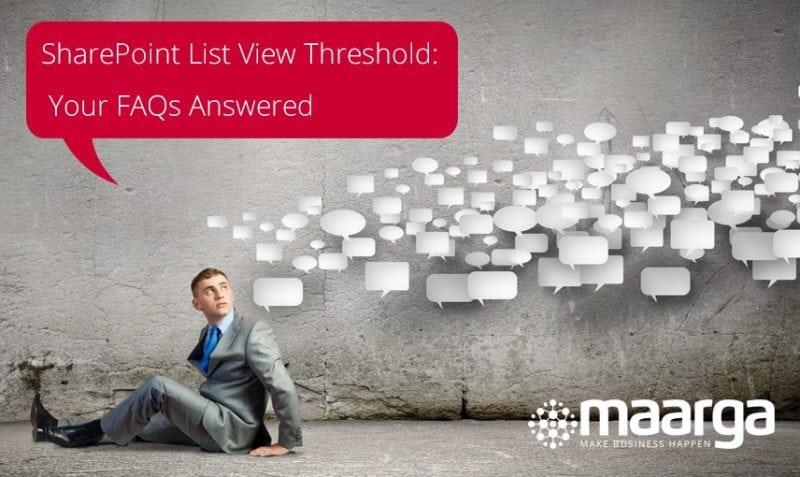 SharePoint List View Threshold