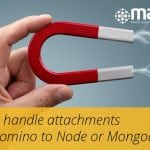 Attachments in Node or Mongodb