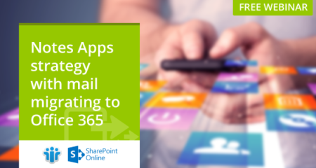 Notes Apps strategy with mail migrating to Office 365